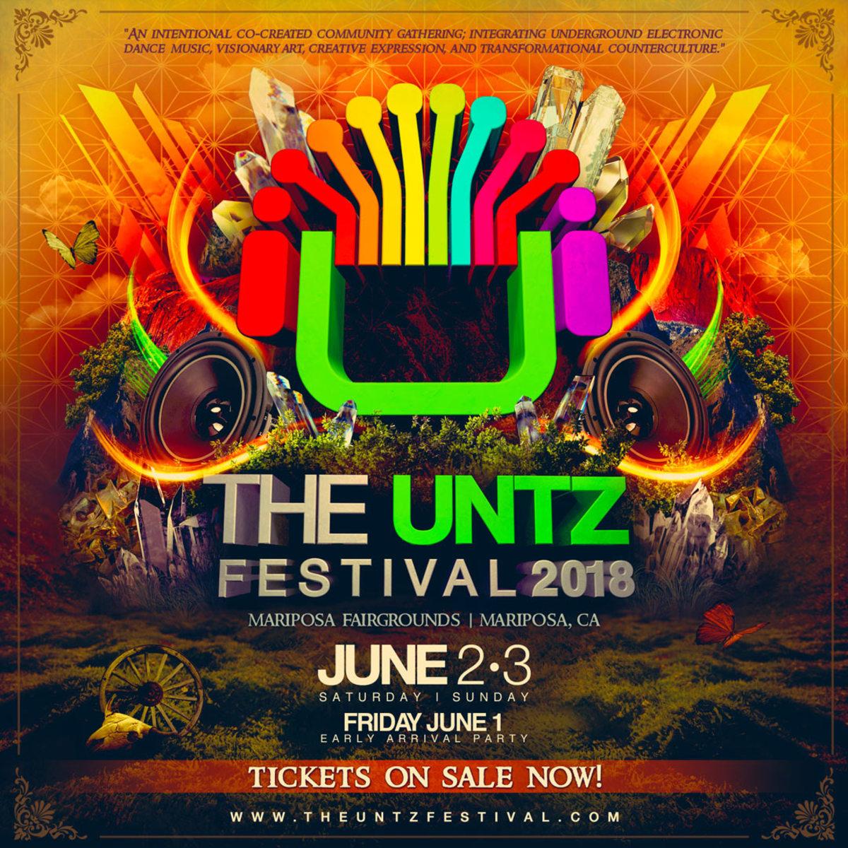The Untz Festival 2020 In Mariposa, CA